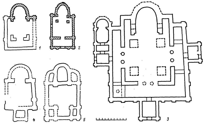 Планы храмов.