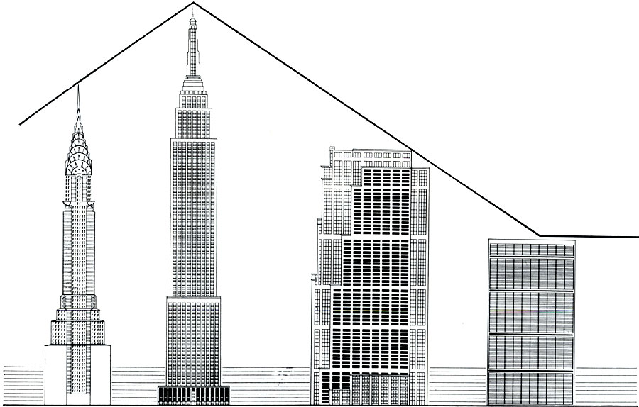 evolution in skyscrapers design essay To see how architecture fits into the evolution of fine arts american skyscrapers • 1945-2000 high tech corporate design architecture.