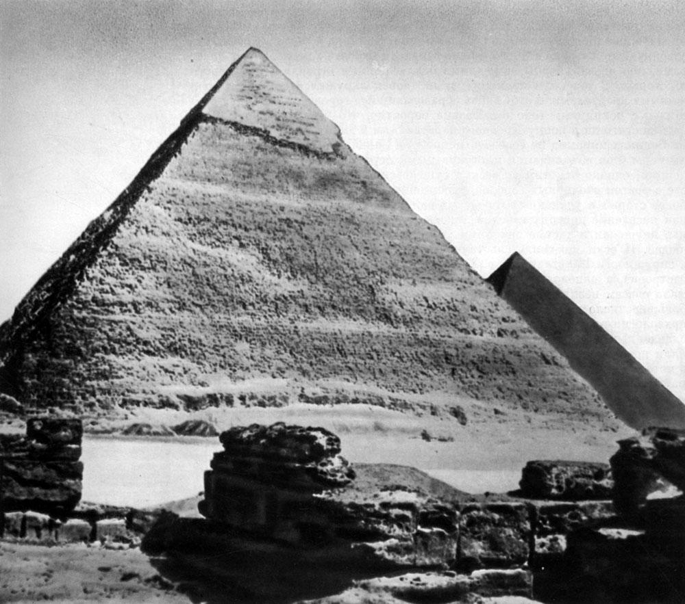 комплекс пирамид в гизе схема план