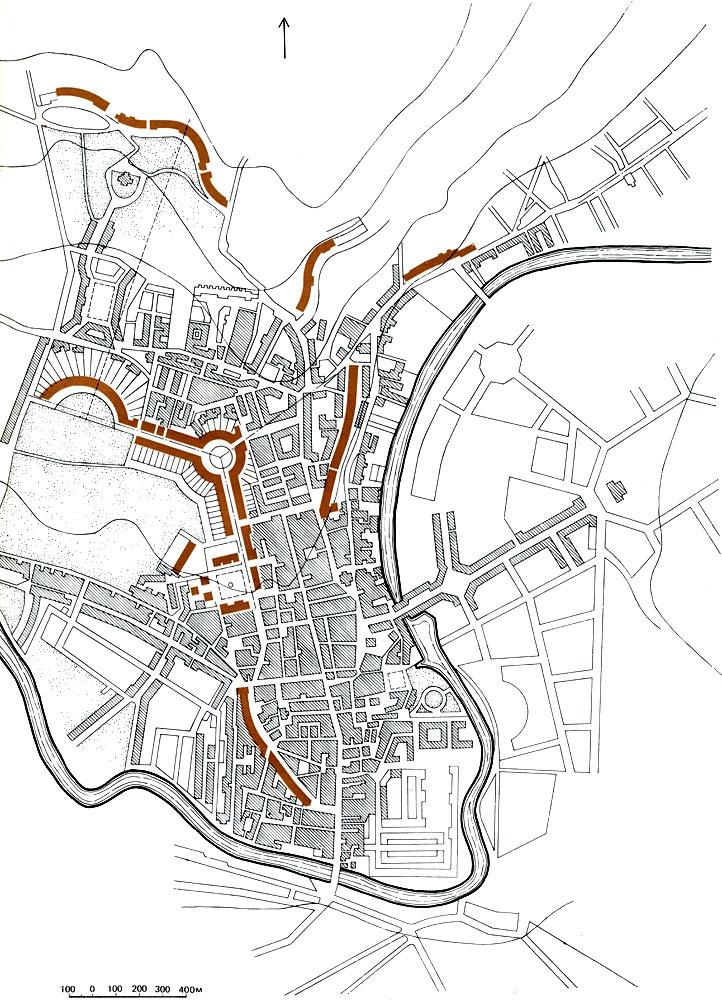 План курортного города Бата
