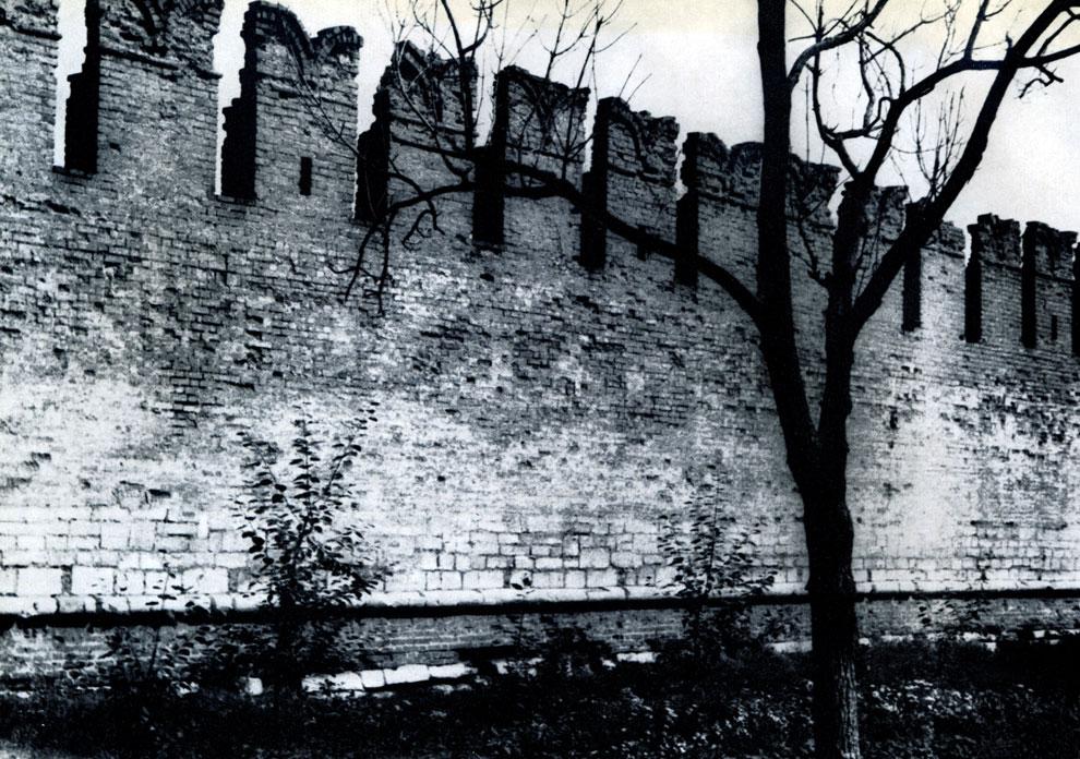 31. Тула. Кремль. Фрагмент юго-западной стены. 1507-1520 гг. Фото В. В. Косточкина