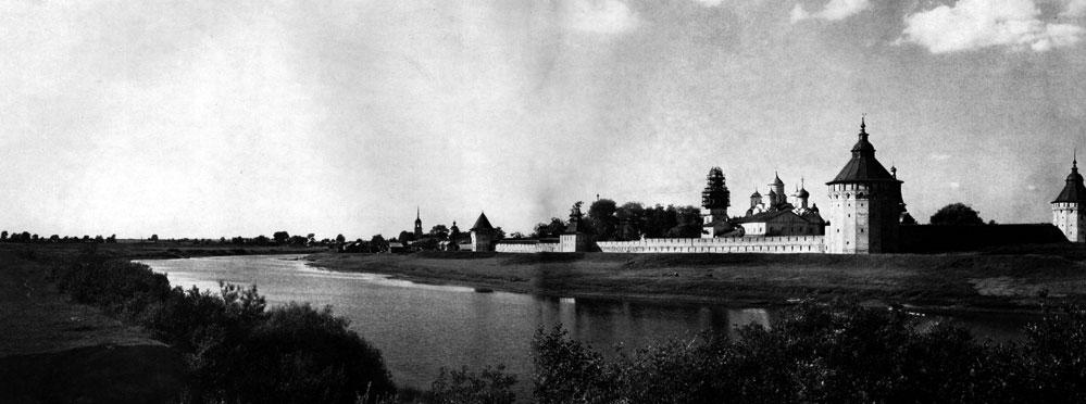 72. Вологда. Спасо-Прилуцкий монастырь. Вид с южной стороны. 1656 г. Фото А. А. Александрова