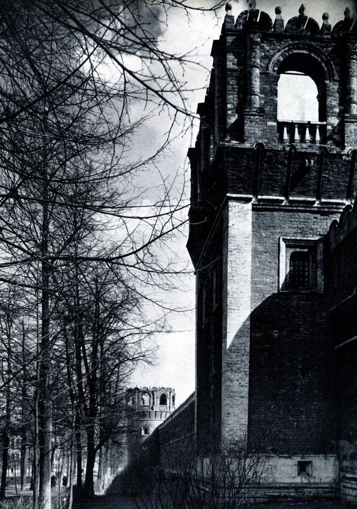 101. Москва. Донской монастырь. Башни северной стены. 1697-1701 гг. Фото А. А. Александрова